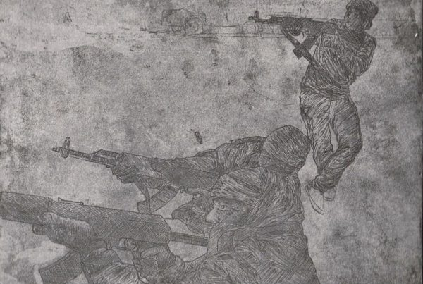 Hard Ground Etching Libya