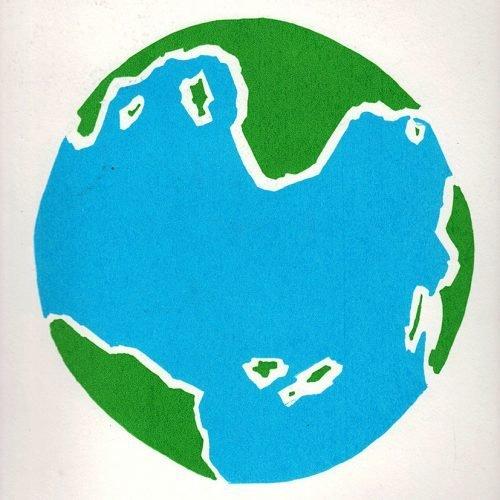 Screen Print - Earth 2 Colour