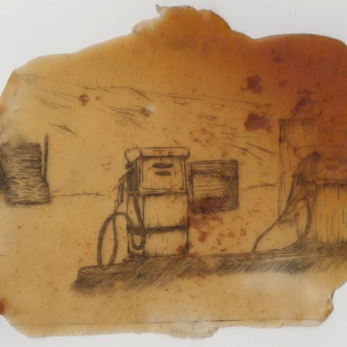 Dry Point Etching Latex