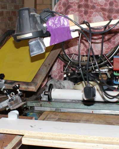 1st homemade 1000w screen print exposure unit