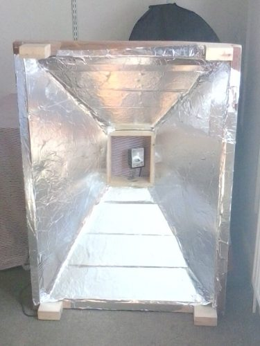 A1 Size homemade 1000w screen print exposure unit